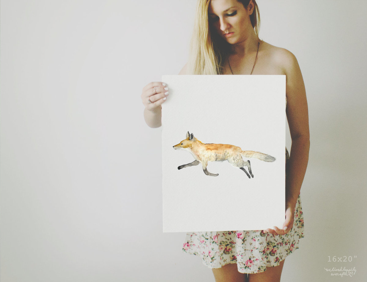 Double_Exposure_Fox_Profile_-_Field_Sunset_Printable_Artwork_-_Animal_Nursery_-_Watercolor_-_Woodlan-490878944-_3