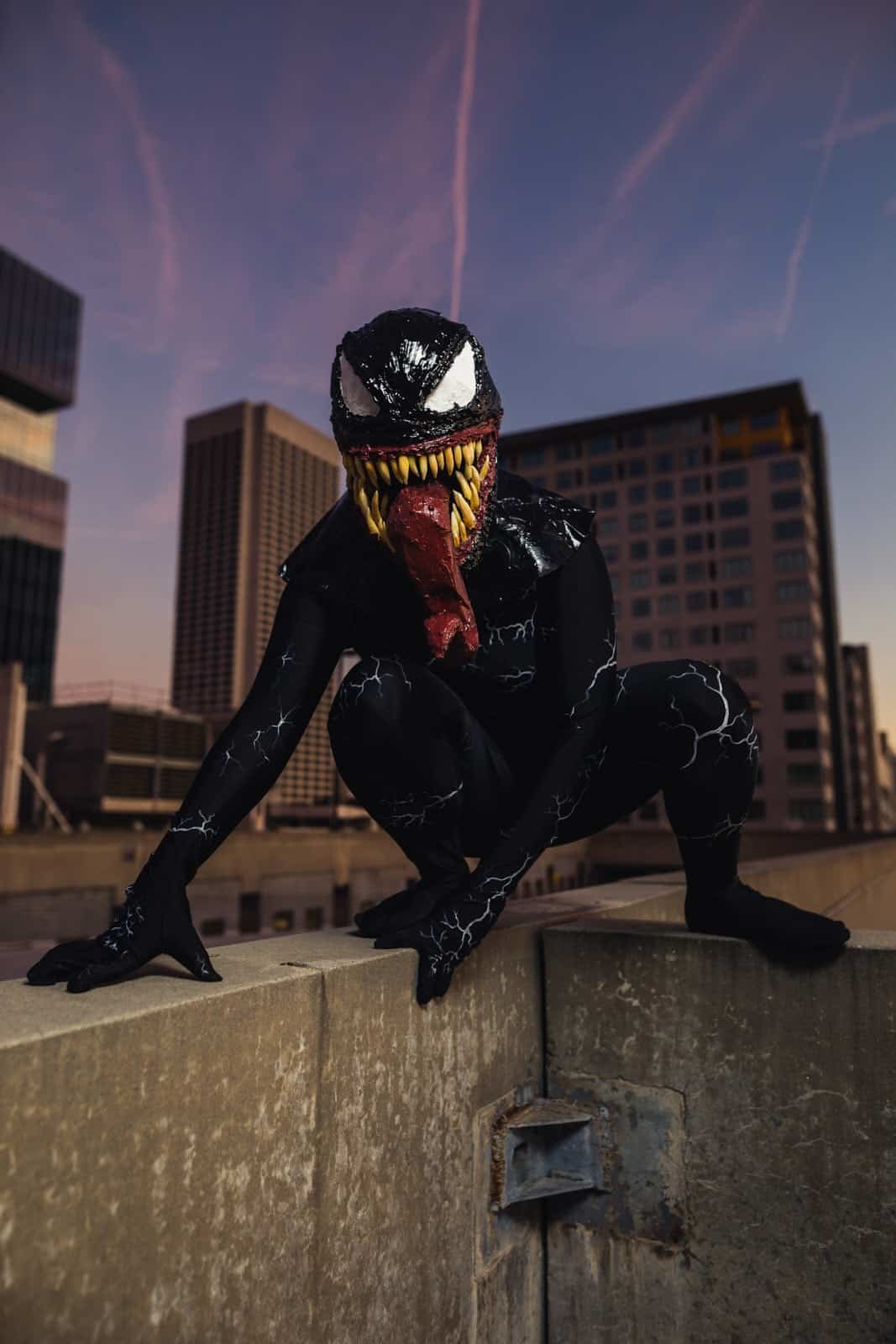 Atlanta cosplay photographer Mike Glatzer venom