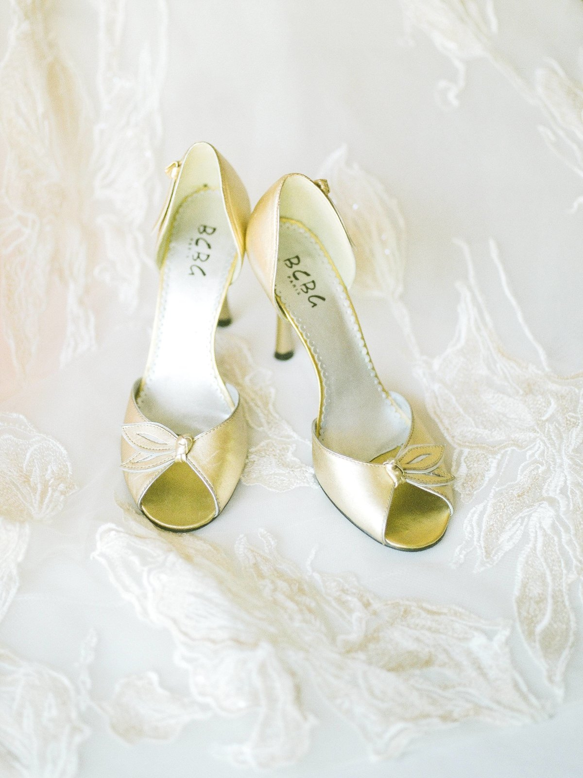 Bridal Shoes Getting Ready