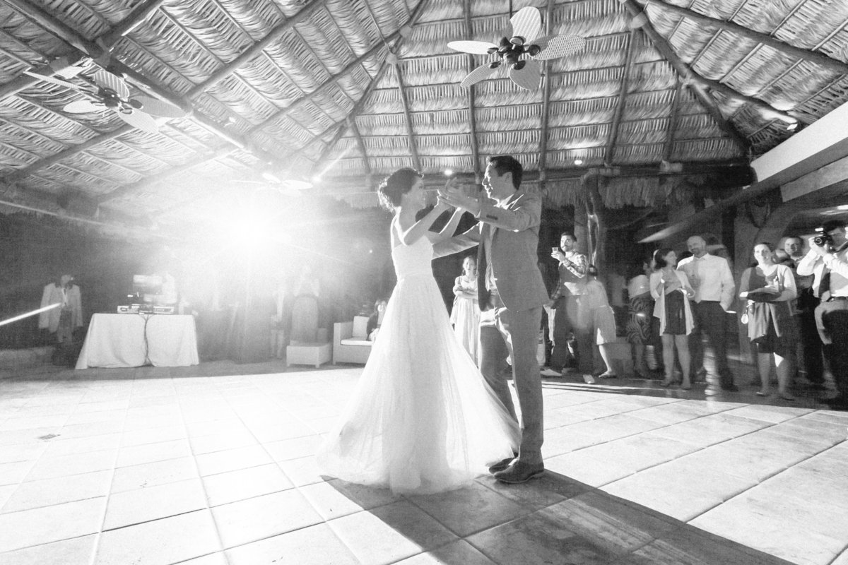 First Dance Destination Wedding Reception