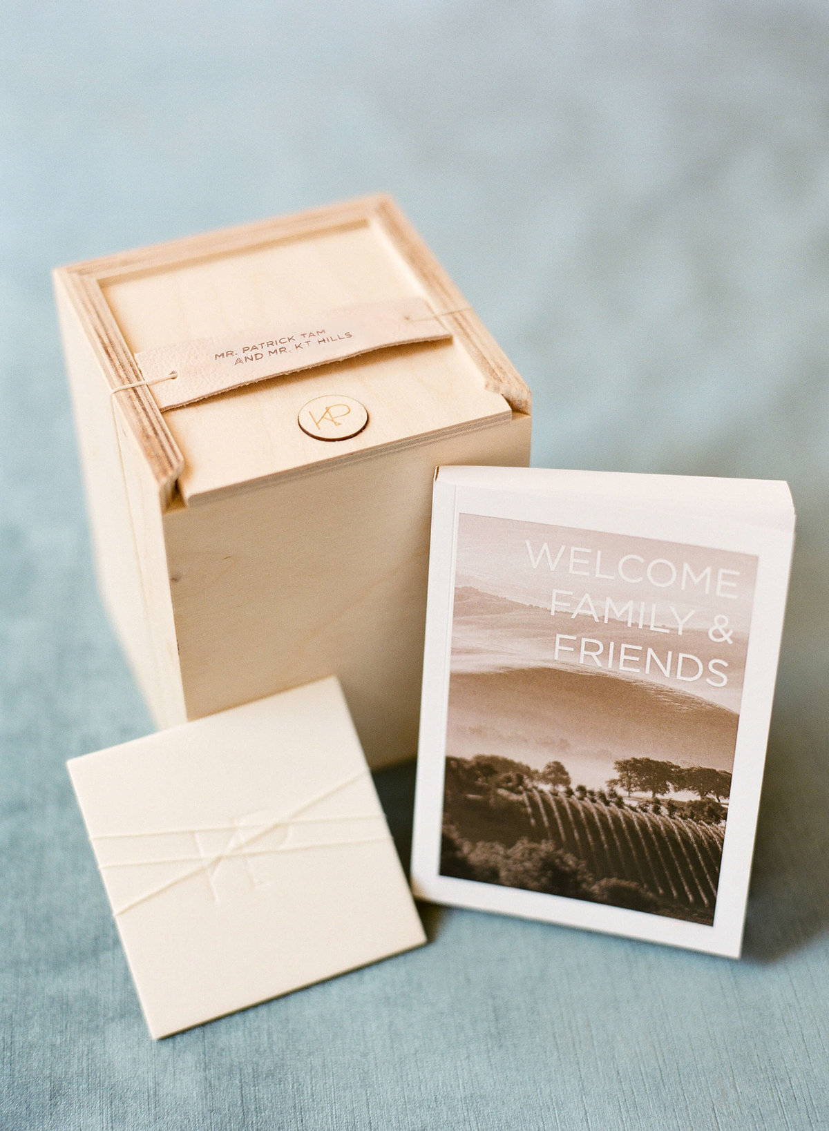 17-KTMerry-wedding-photography-welcome-box-NapaValley