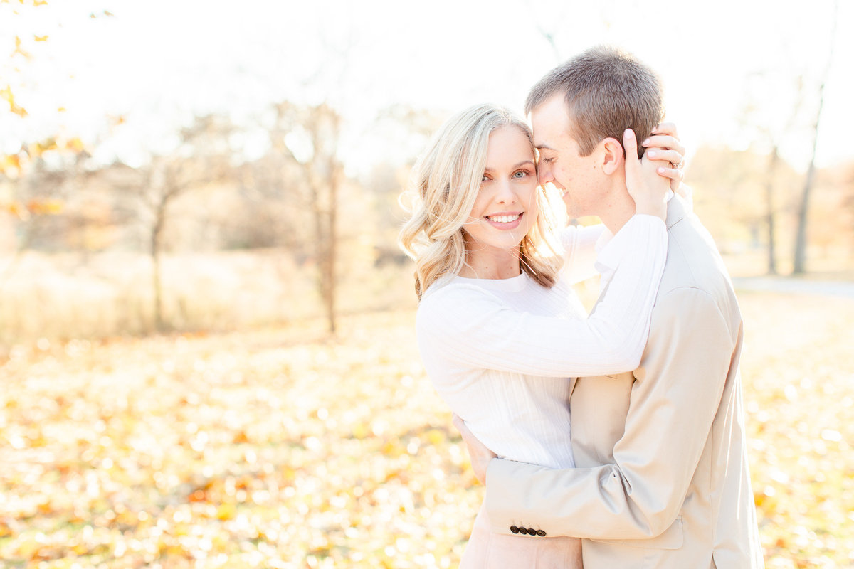 Fall Forest Park Engagement Session