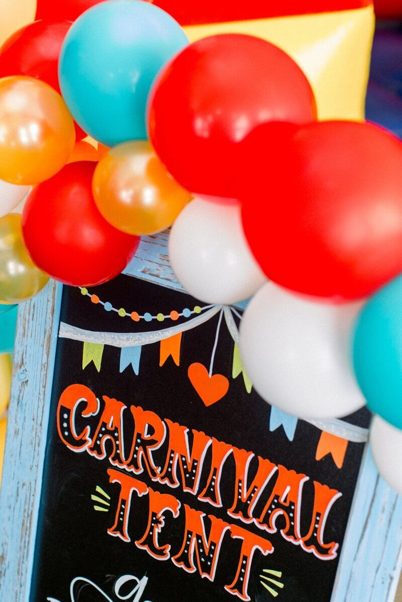 Circus Themed 1st Birthday Indianapolis Party Planner_0112