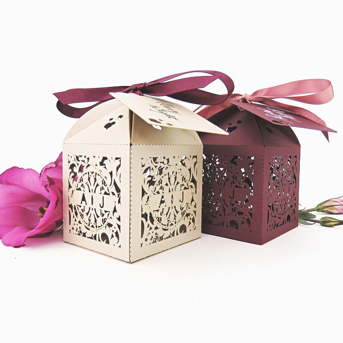country garden_Wedding_Favour_Box