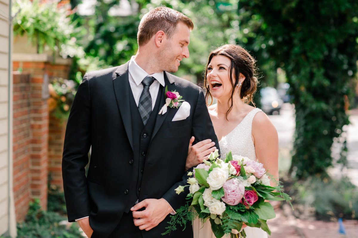 German village wedding portraits