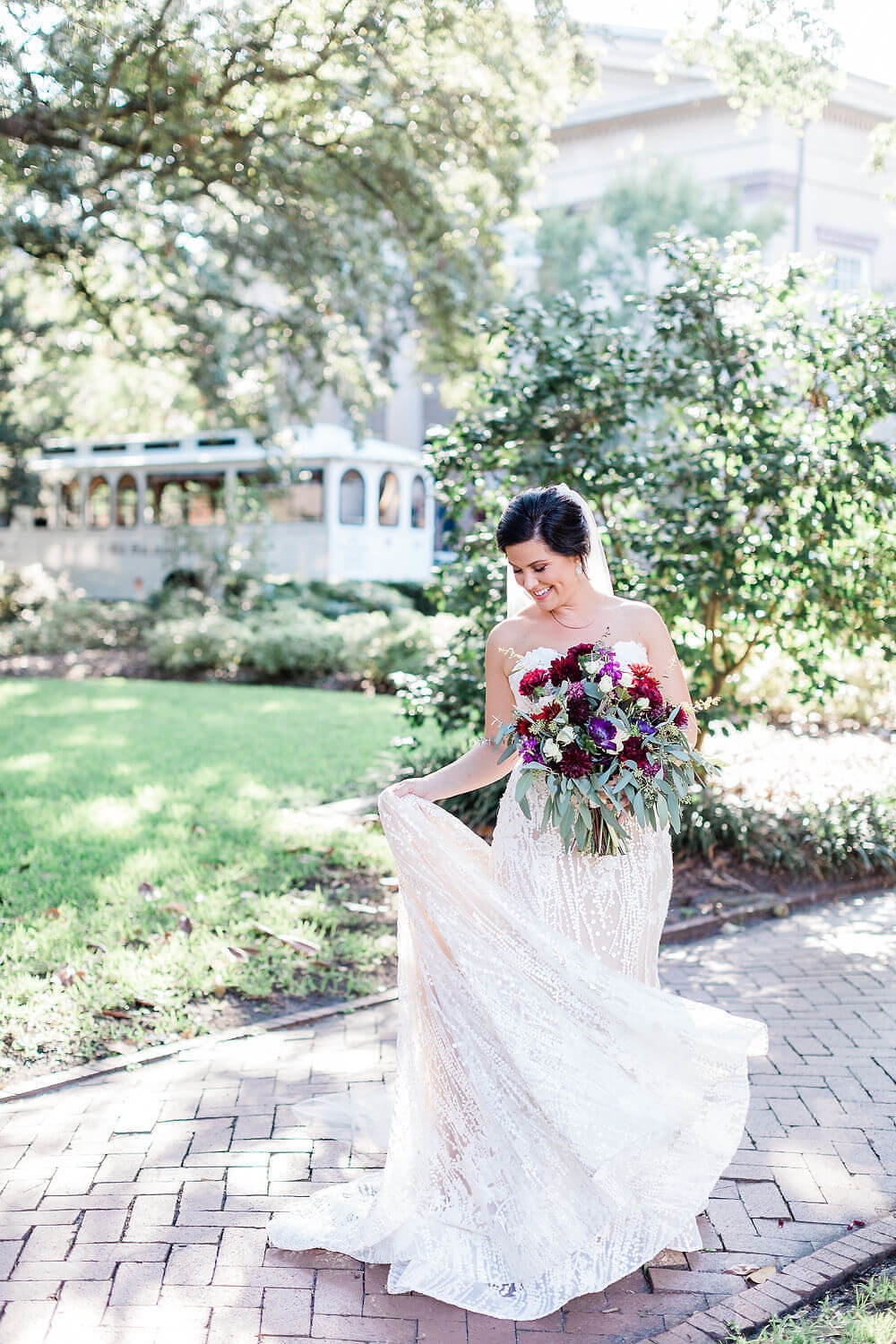 Historic Savannah Fall Wedding by Apt. B Photography
