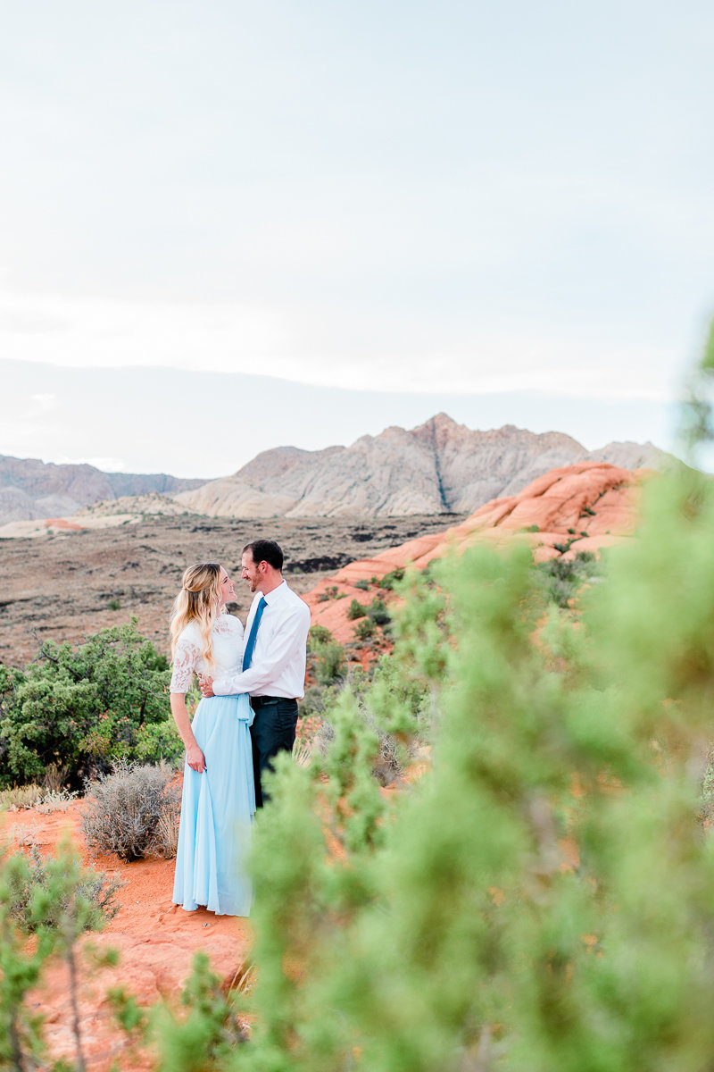 Utah Engagement | Wedding Photographer | Snow Canyon Portraits-2