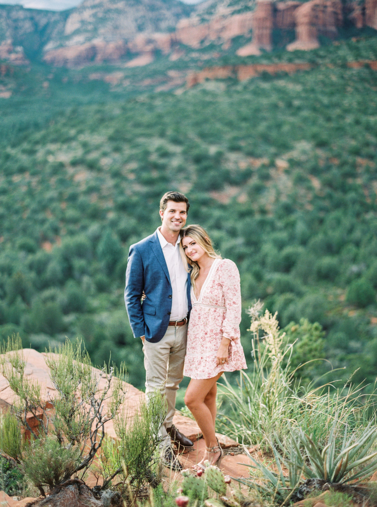 Sedona Arizona Engagement Session - Mary Claire Photography-4