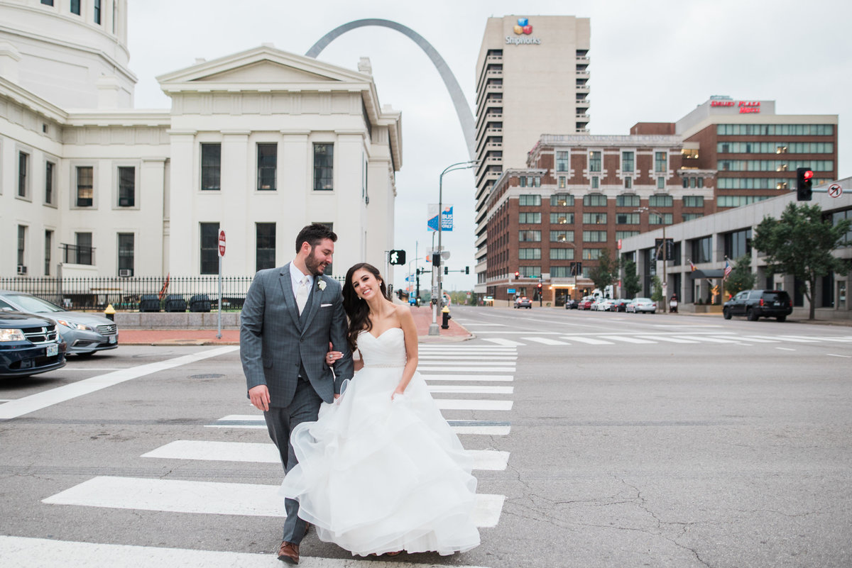 Downtown St Louis Wedding Editorial