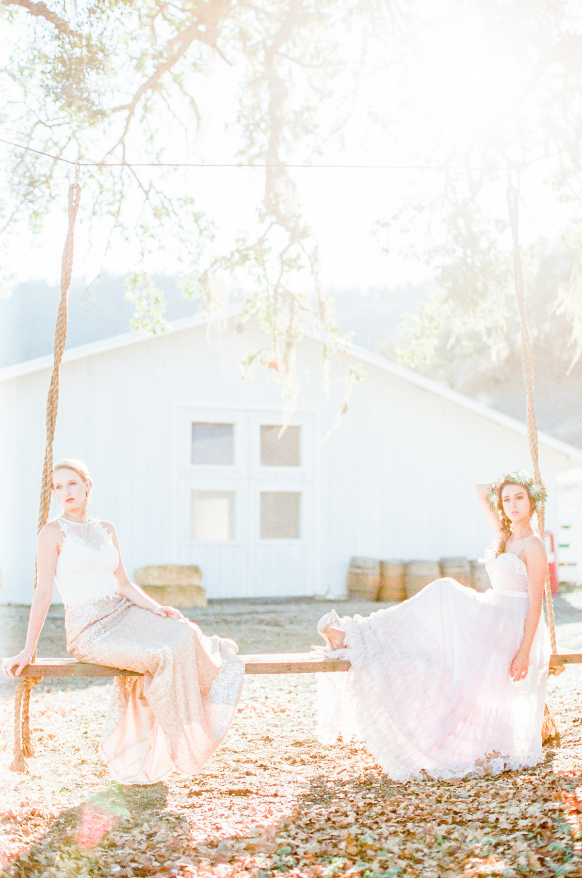 Blush Gold Bridal Style