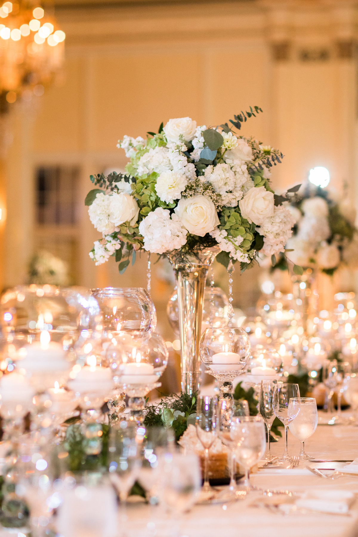 Fairmont Olympic Hotel Wedding Spanish Ballroom Reception Details