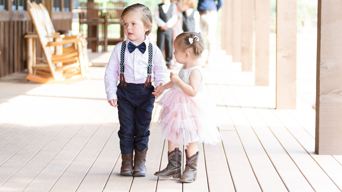 cute children in wedding
