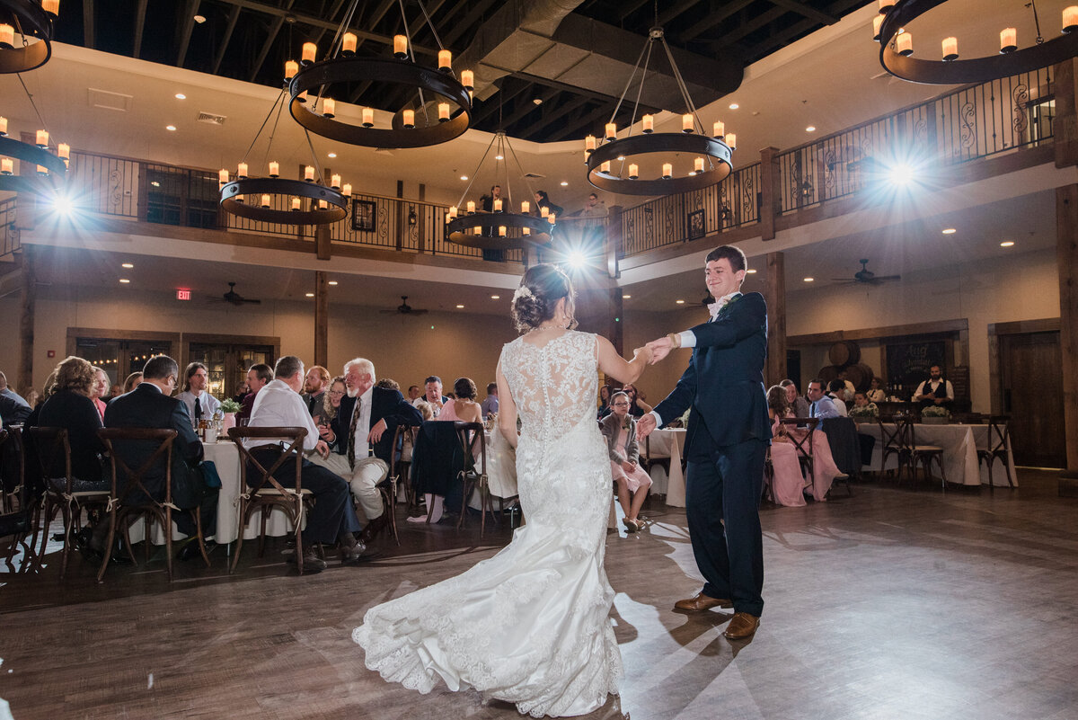 First dance at Silver Oaks Chateau