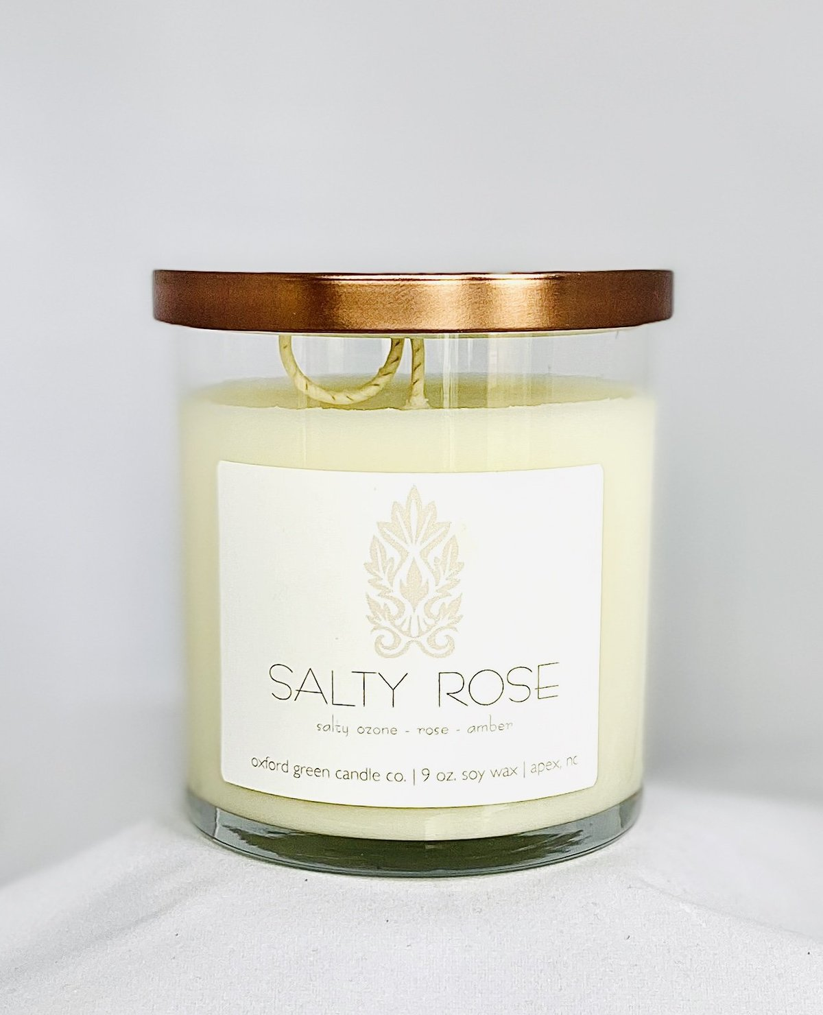 Salty Rose - Soy Candle