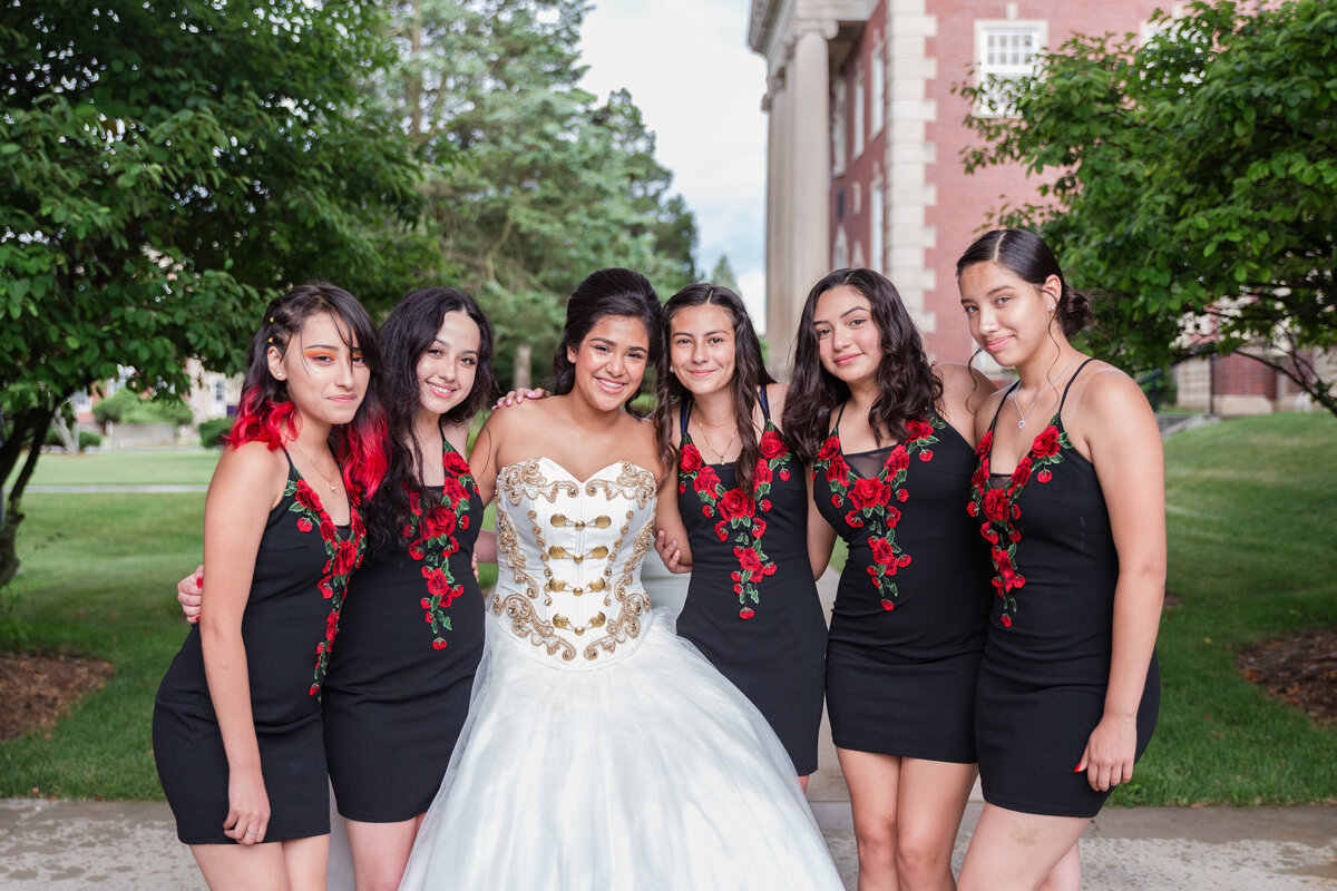 Maira Ochoa Photography, Beautiful Quinceanrea, Mariachi theme in University of St Mary of the Lake, Mundelein, IL, Chambelanes charros portraits_-13