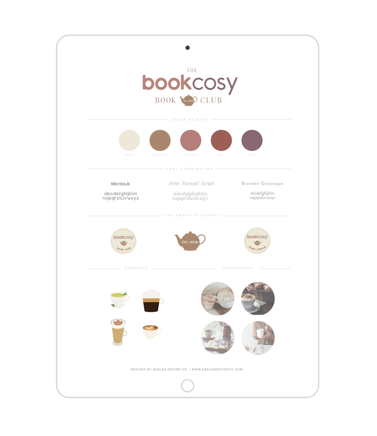The BookCosy Branding