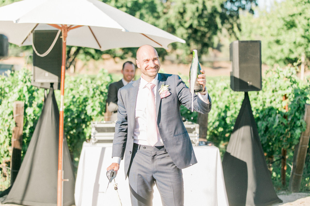 Napa Champagne Wedding
