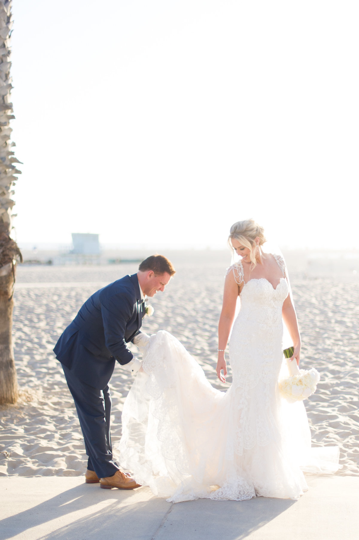 Sneak Joel Janelle Casa Del Mar Wedding  _ Hello Blue Photo-23