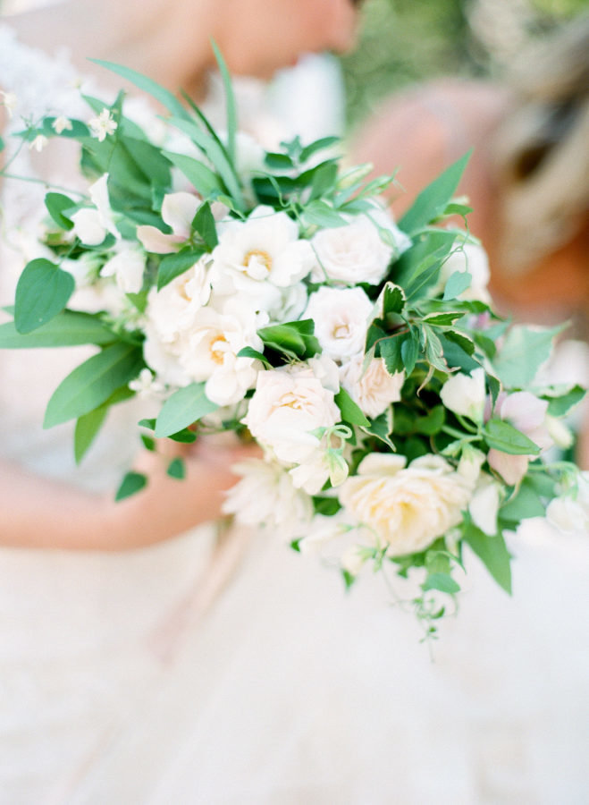 neutral bridal bouquet studio fleurette