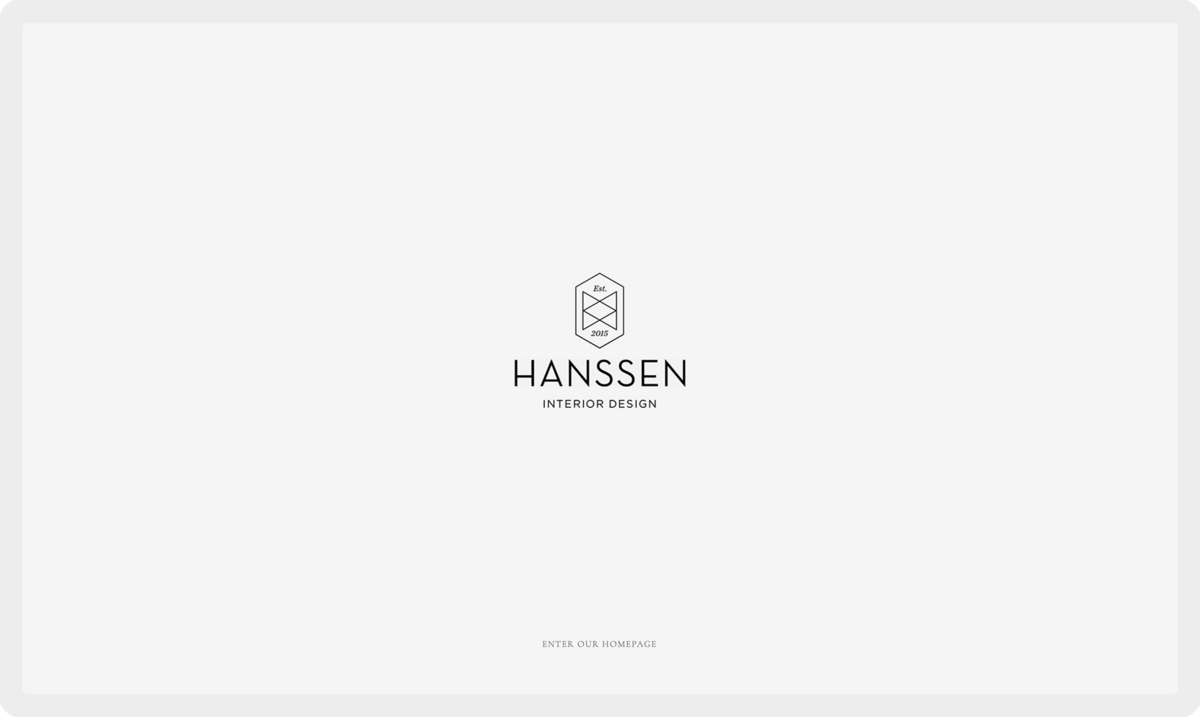 Hanssen Interior Design, Website