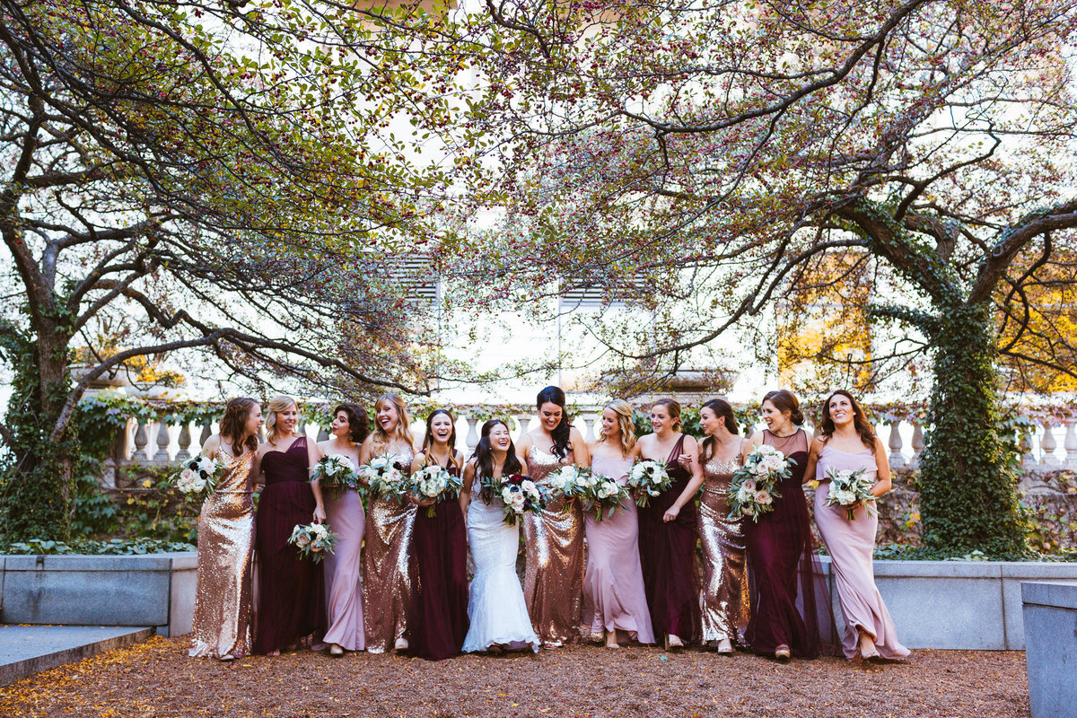 Art-Institute-Wedding-Bridesmaids-Dress-Ideas