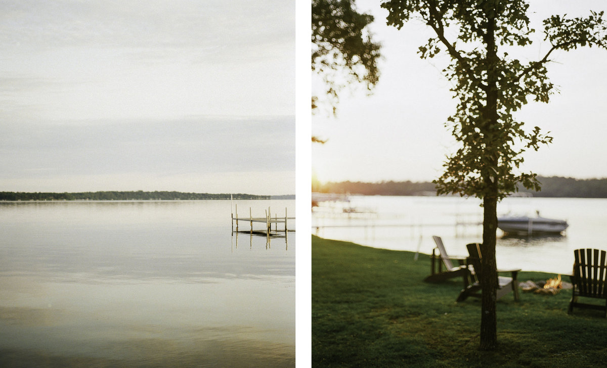 film photography of gull lake minnesota