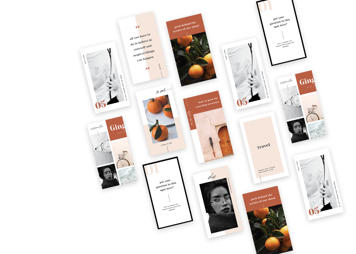 Websites & Templates | Shop Saffron Avenue, Brand Styling, Modern