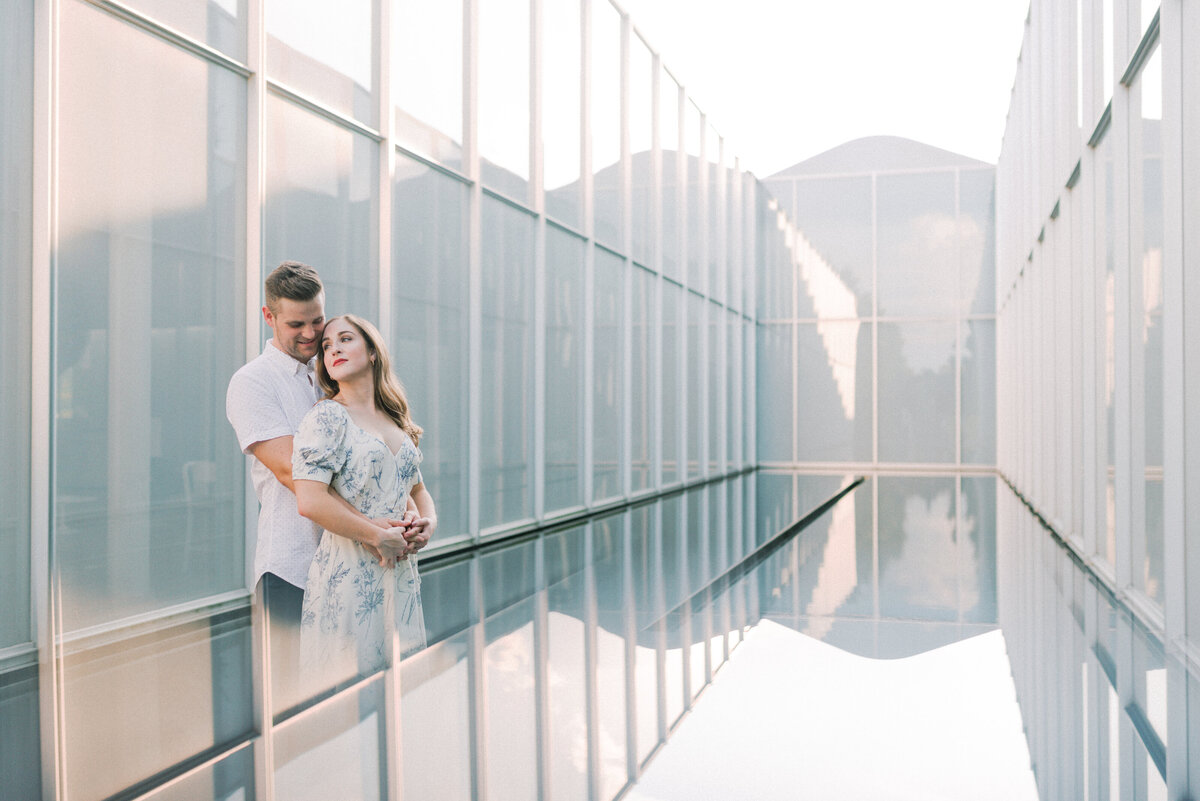 Engagement Photography at the NC Museum of Art in Raleigh, NC 14