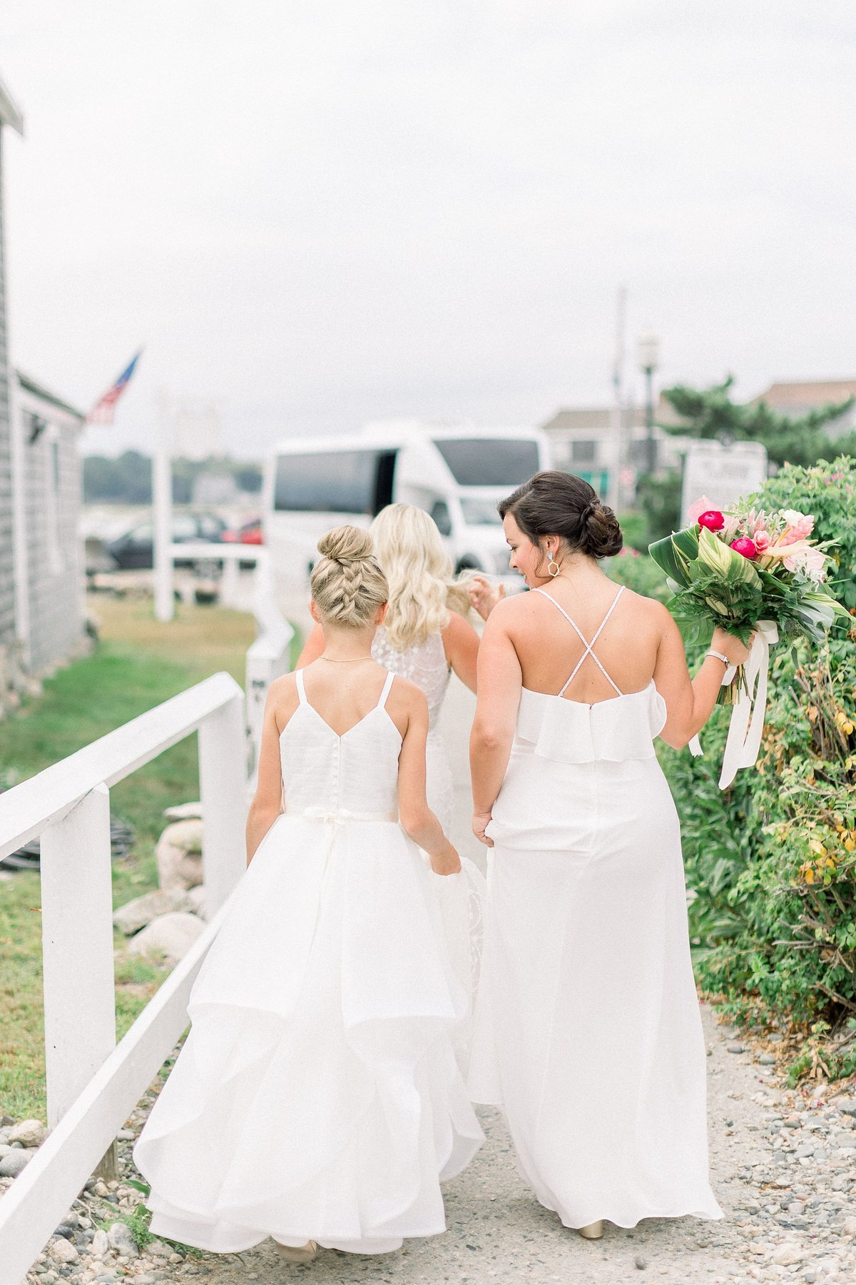 Scituate MA Greenhouse Wedding Photos By Halie-First Look-78