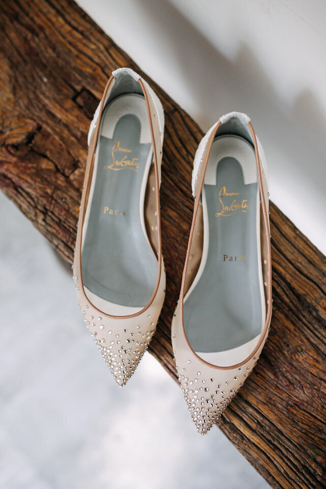 Brides Shoes Arnold House Livingston Manor Wedding Catskills Wedding Planner Canvas Weddings