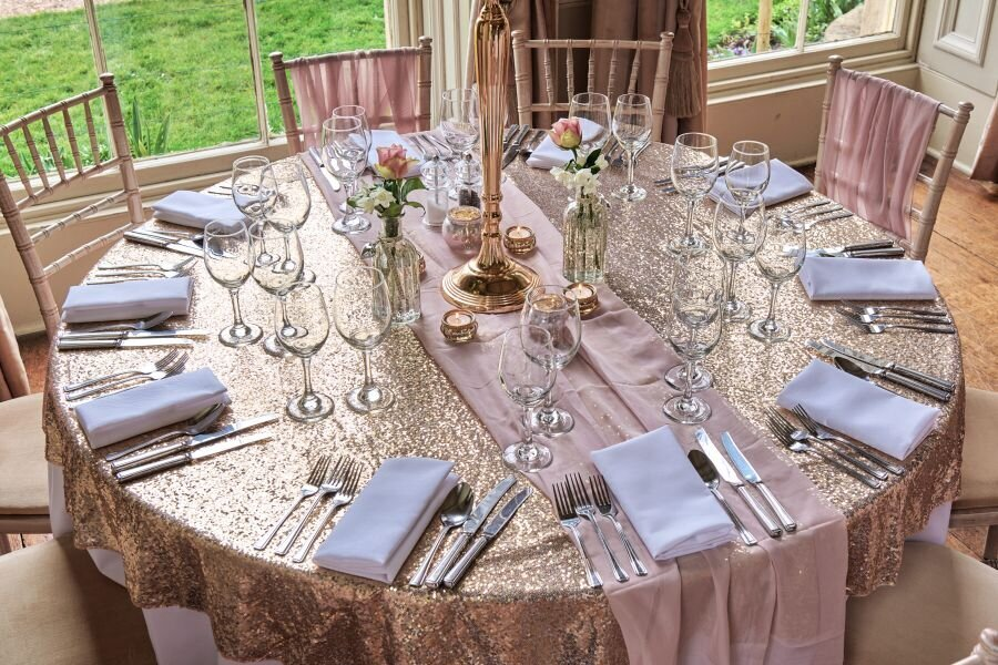 Dusky pink and gold wedding Prestwold Hall sm (6)