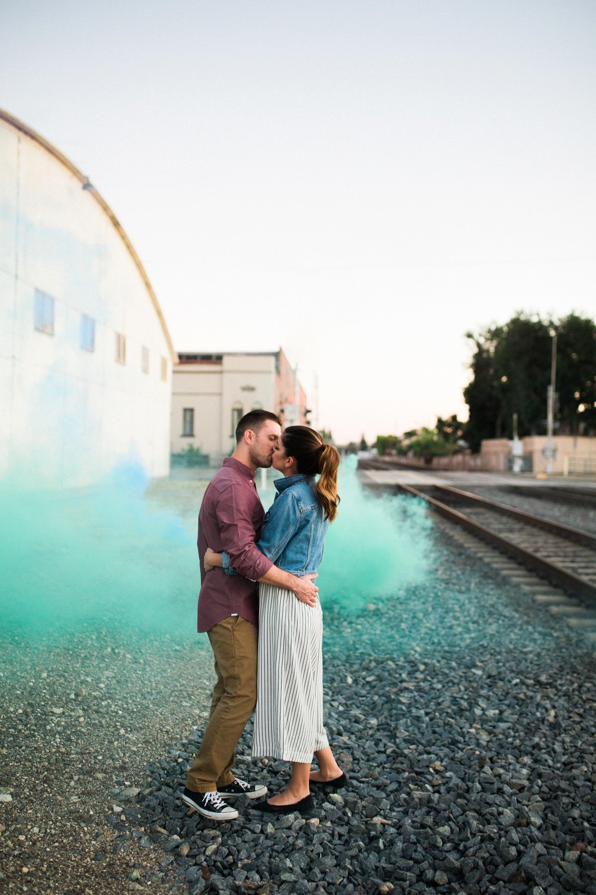 southern-california-photographer-engagement-photos-old-towne-orange-smoke-bomb