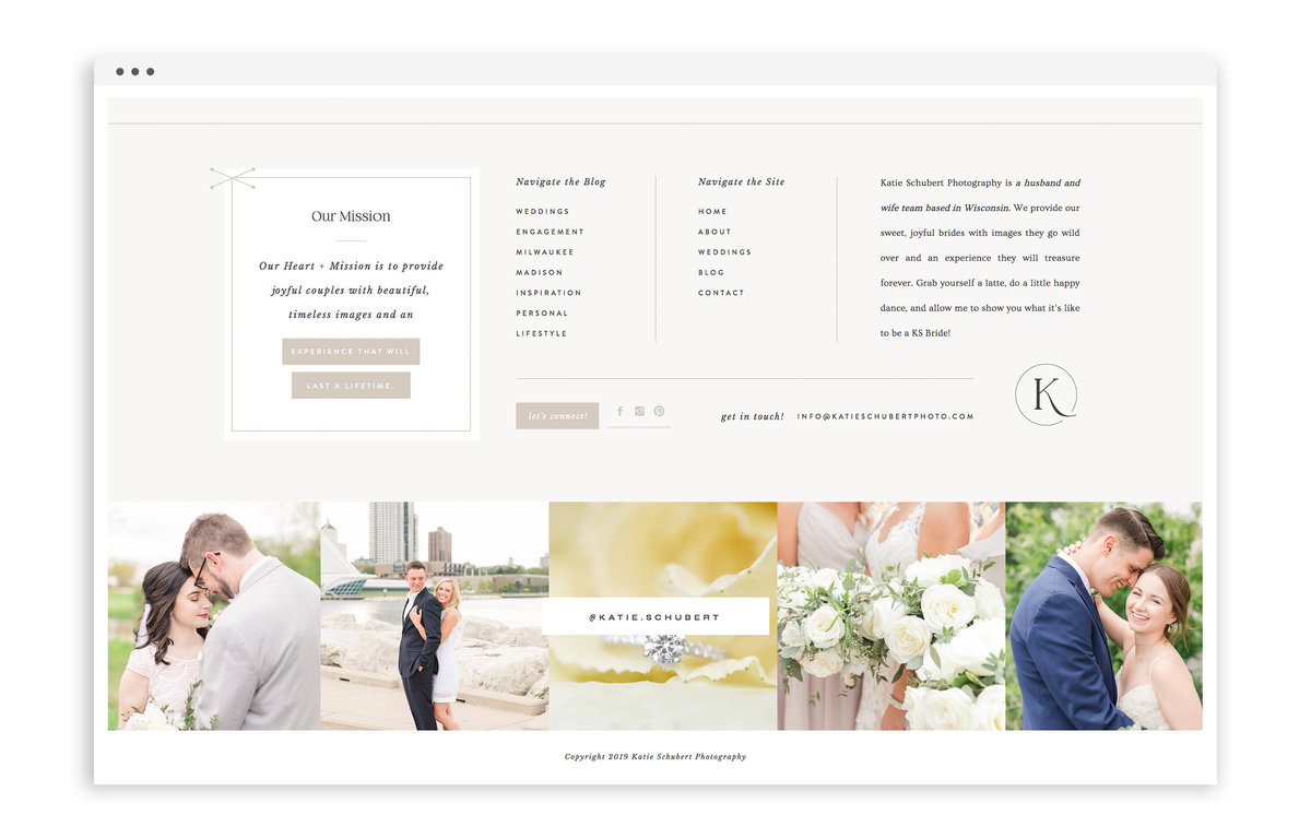 Katie Schubert Photography - Custom Brand and Showit Web Design by With Grace and Gold - Showit Theme, Showit Themes, Showit Template, Showit Templates, Showit Design, Showit Designer - 0