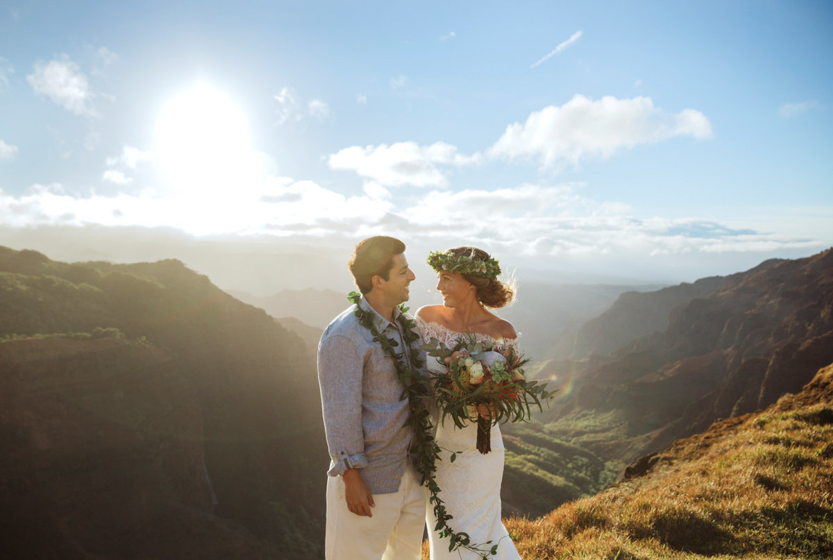 waimea canyon kauai wedding 001