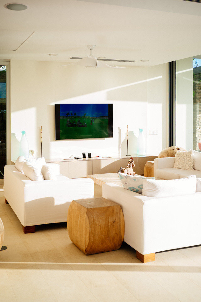 living room at ani private resort in anguilla