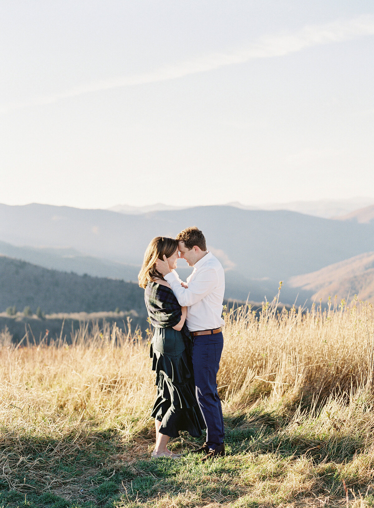 Asheville North Carolina Wedding Enagagement Photographer Blue Ridge Parkway Session-32