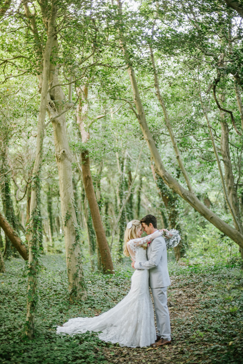 spring lake bath and tennis wedding woodland forest whimsical natural bohochic