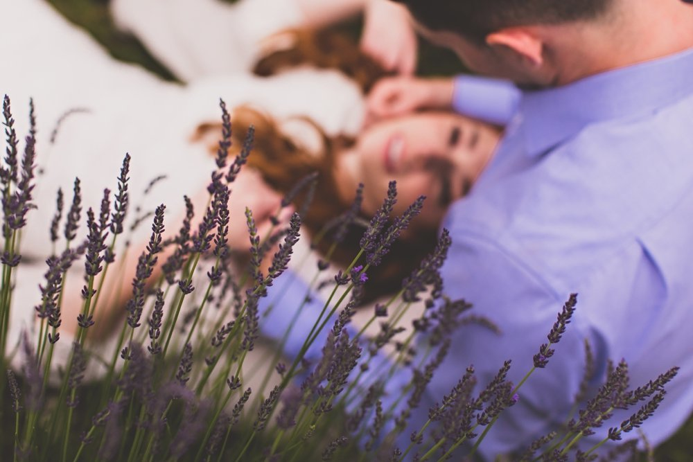 Evergreen Lavender Farm Engagement Session_0013