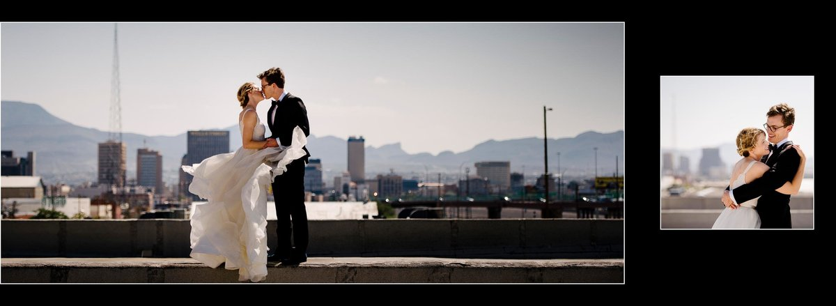 Wedding at EPIC railyard in El Paso, Texas
