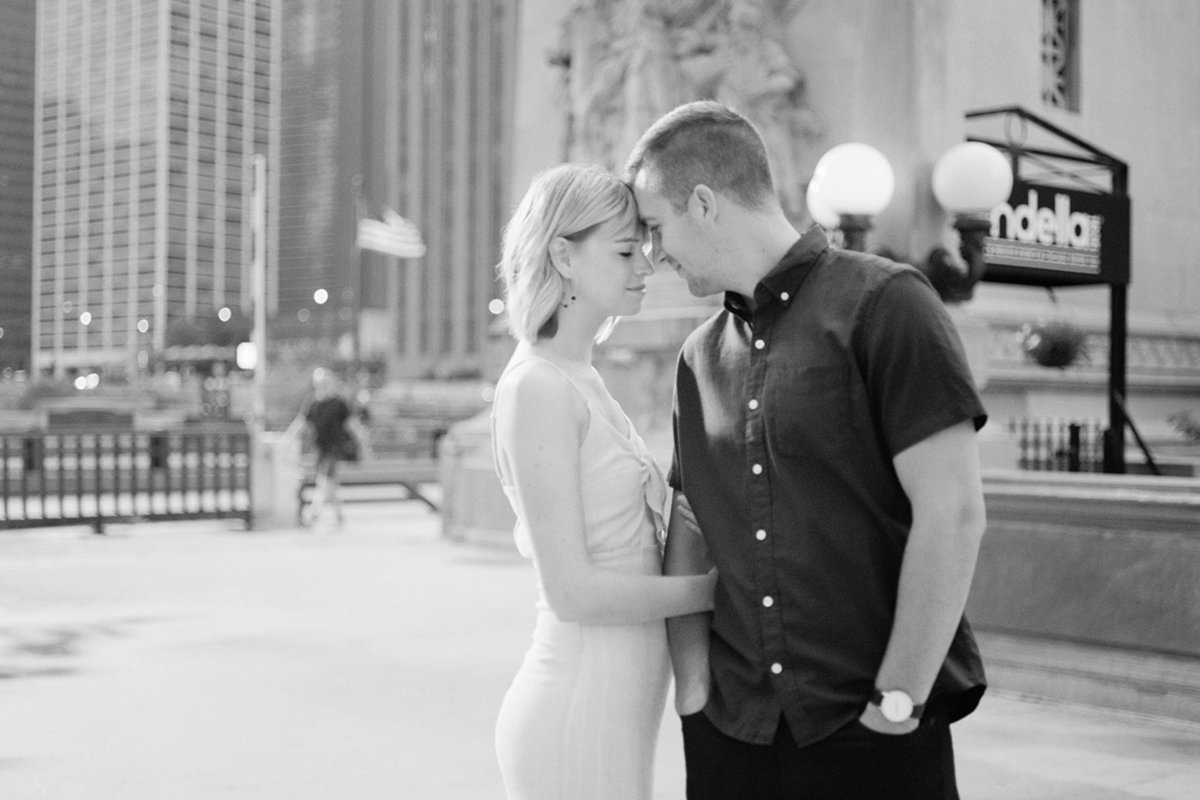 Chicago Wedding Photographer - Fine Art Film Photographer - Sarah Sunstrom - Sam + Morgan - Engagement Session - 17