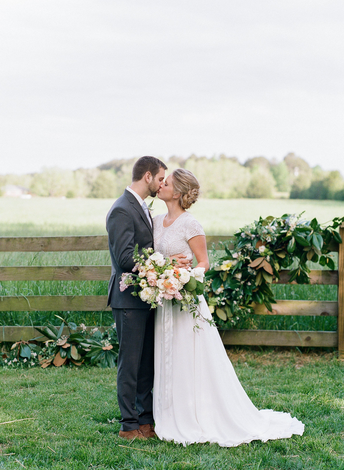 Southern Wedding in Madison Georiga with Magnolia