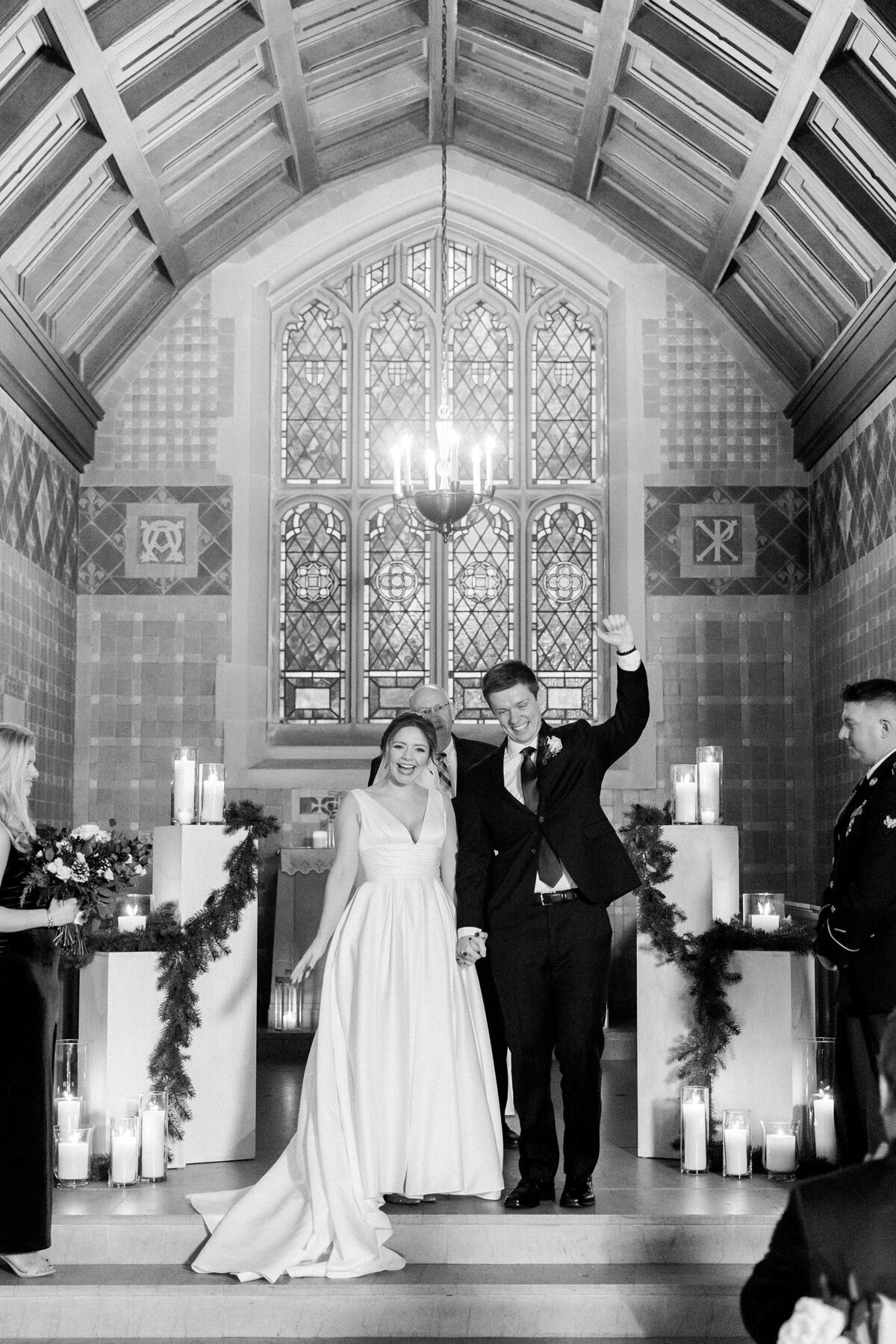 Alvirne Chapel Wedding NH By Halie-Ceremony-61