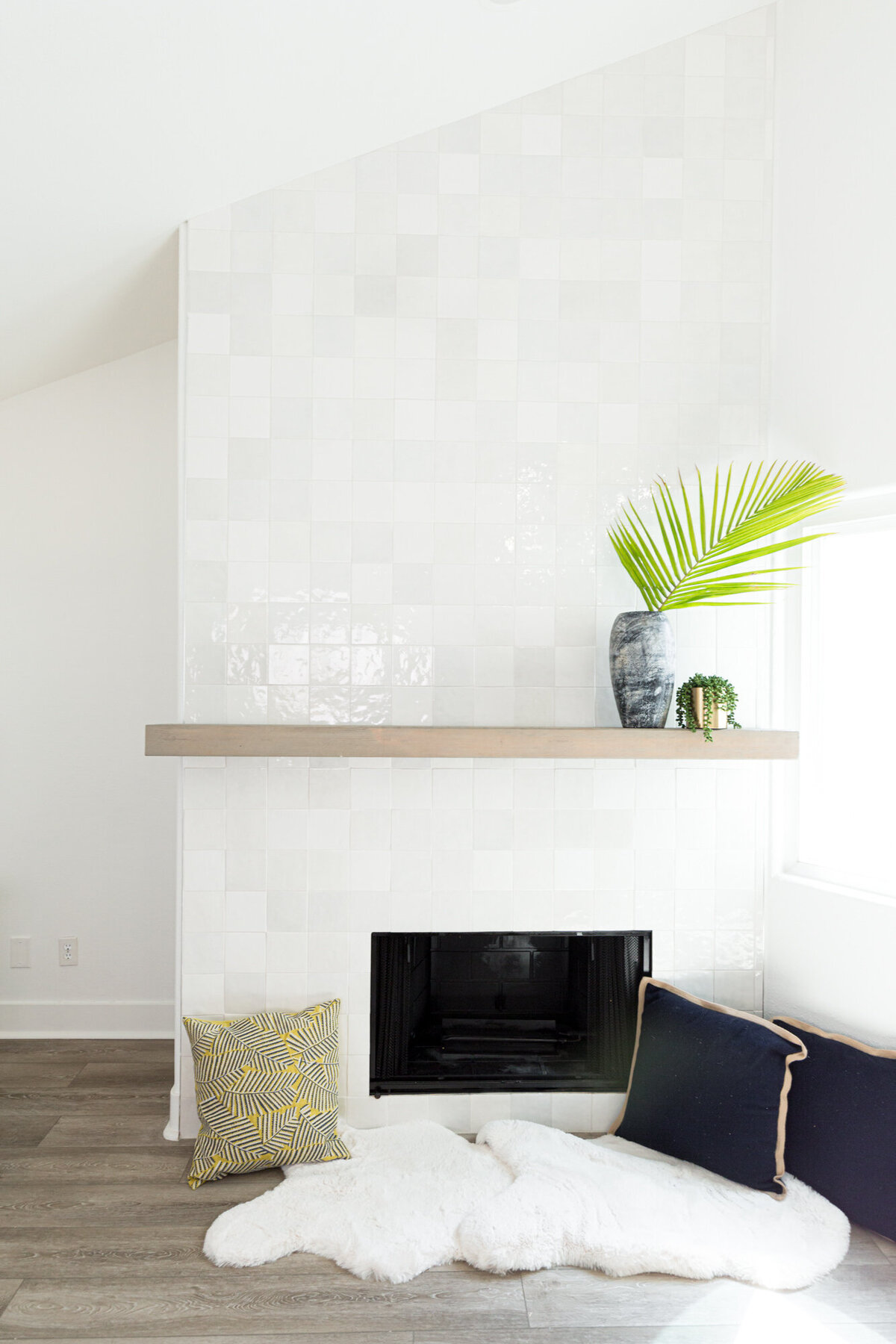 The Posh Home Fireplace Remodel
