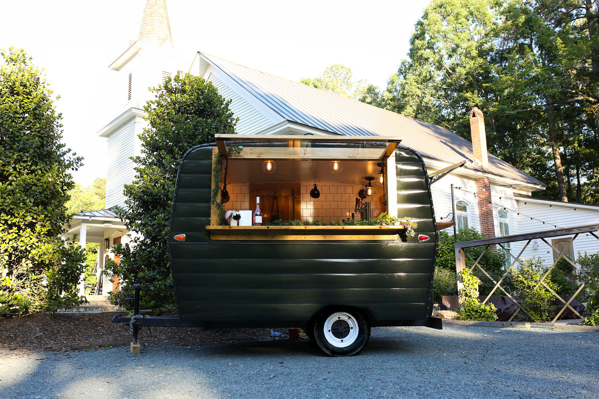 Pinola mobile bar at the parlour