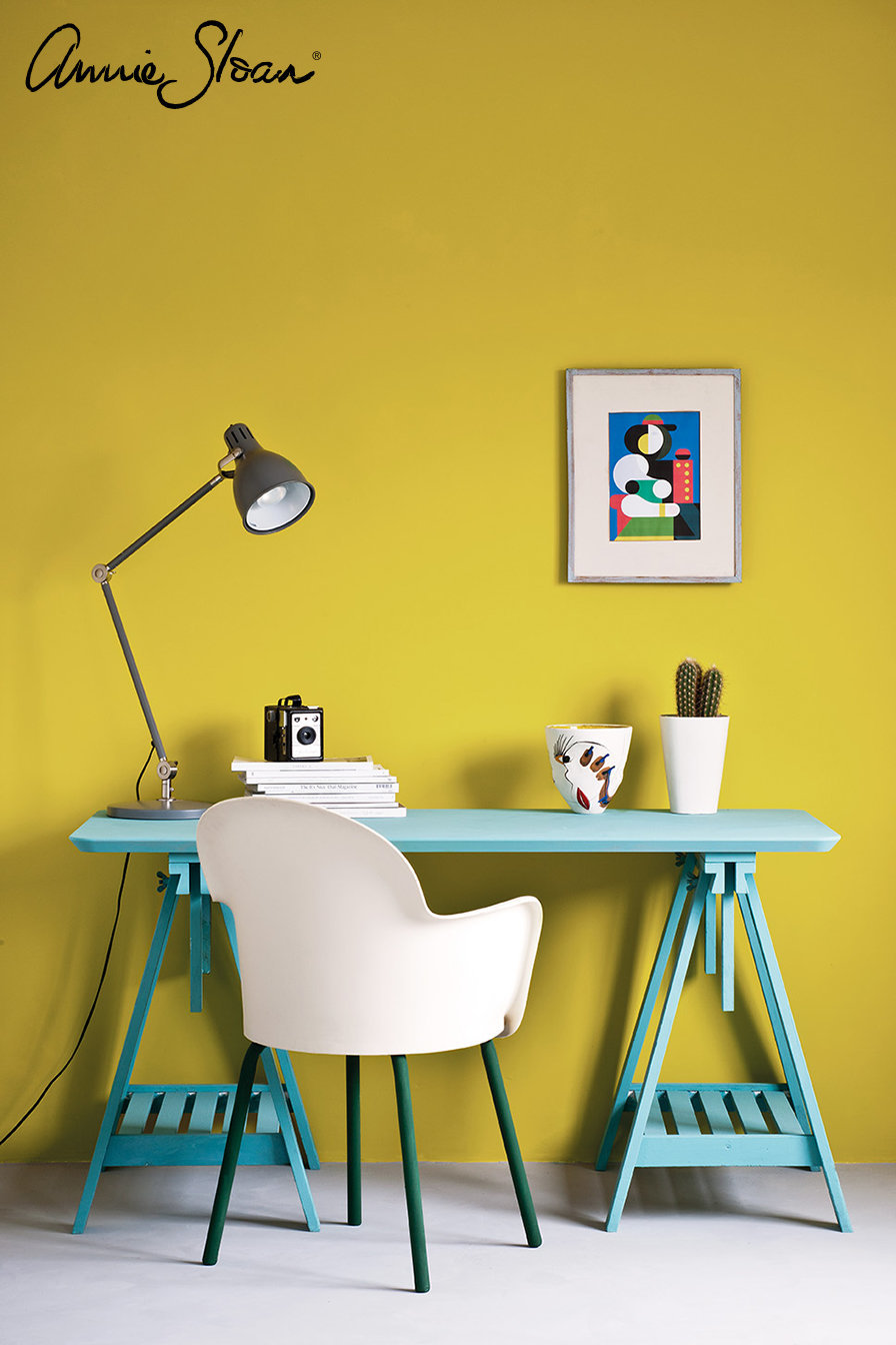 English-Yellow-Modern-Retro-study-Provence-Amsterdam-Green-Floremce-Primer-Red-image-3