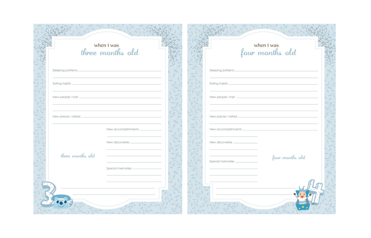 Baby-Book-Pages-Blue-40-41