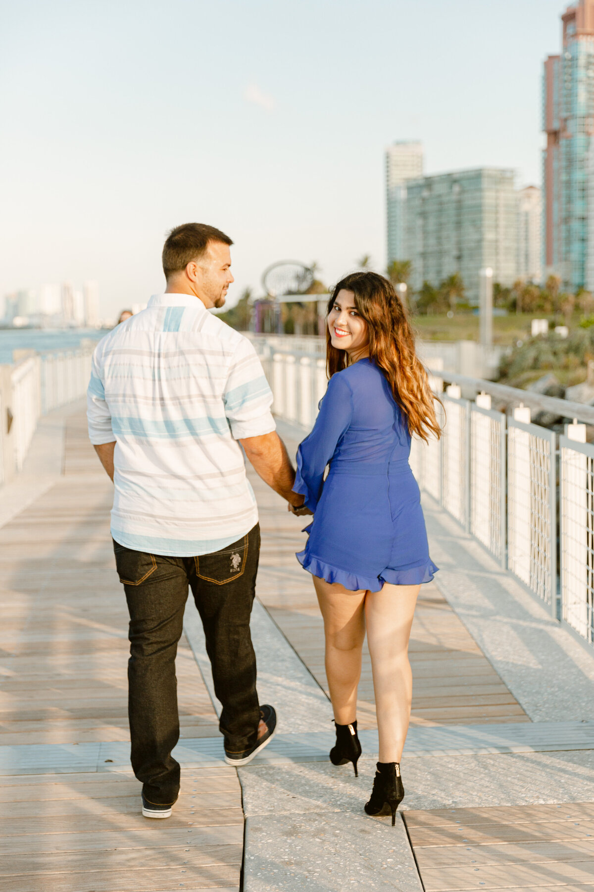South Pointe Park Engagement Photography Session 17