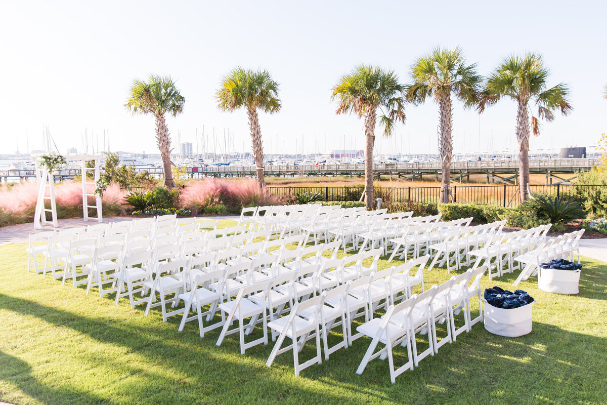 Hannah and Alex - Charleston Harbor Resort & Marina - Ceremony Details - 012