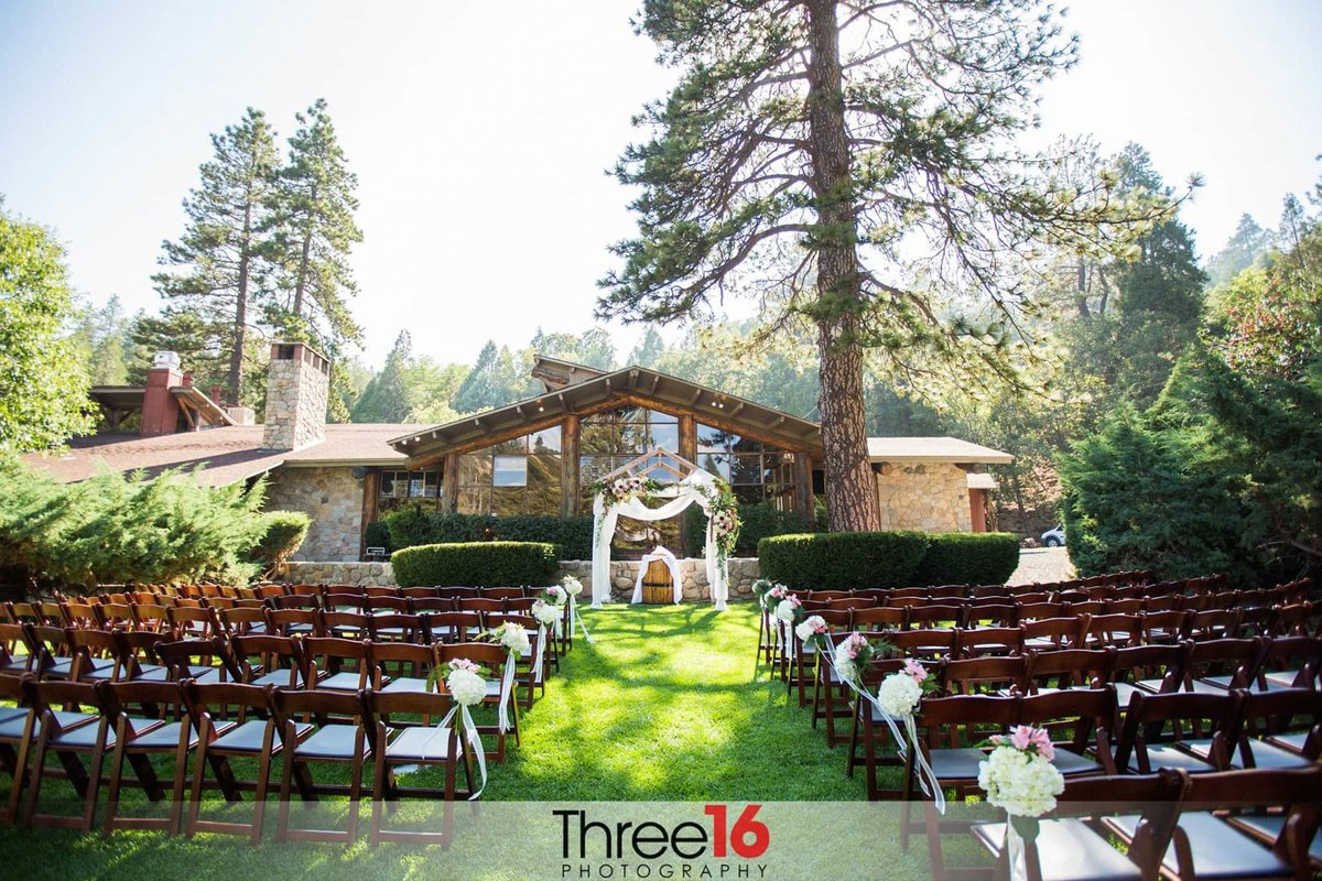 Orange County Wedding Photographer San Moritz Lodge Wedding Ceremony