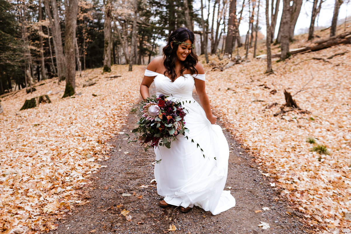 Boho-Bride-Northwoods-Wisconsin
